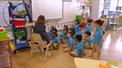 Kindergartens in primary schools help ease transition to Pri 1 | Video