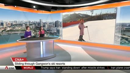 CNA+: Sliding through Gangwon's ski resorts with Korean correspondent Yun Suk