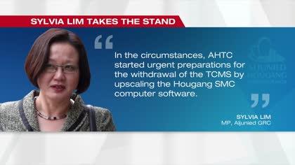 AHTC trial: Davinder Singh accuses Sylvia Lim of lying | Video