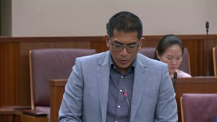 Darryl David on Active Mobility (Amendment) Bill and Shared Mobility Enterprises (Control and Licensing) Bill