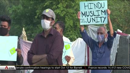 Pakistan activists halt construction of Hindu temple | Video