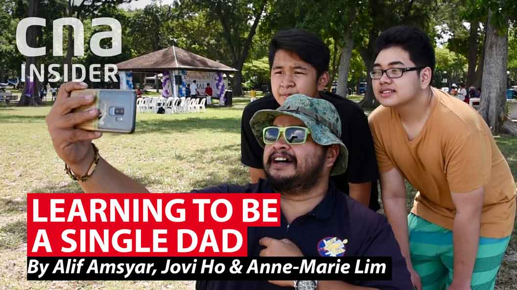Learning to be a single dad