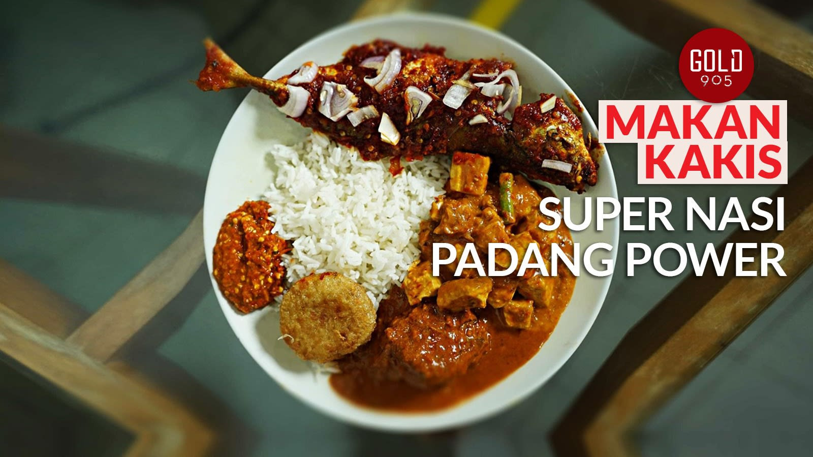 Makan Kakis: Nasi padang with the spiciest sambal in Orchard Road | CNA Lifestyle