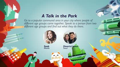 Task 10 A Talk in the Park: Saab and 2hearts1seoul