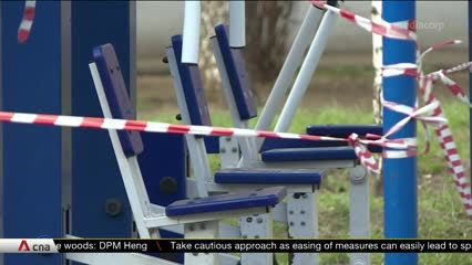 Fitness centres struggle as COVID-19 lockdown continues in Russia | Video