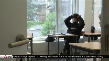 COVID-19: Students in Belgium return to schools after months of disruption | Video