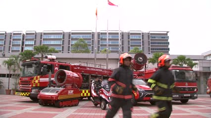New SCDF centre to link up global researchers, emergency responders | Video