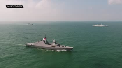 ASEAN, China conclude first joint maritime exercise | Video