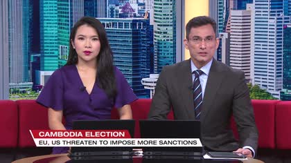 Cambodia claims recent election was fair and open, but critics say polls were flawed | Video