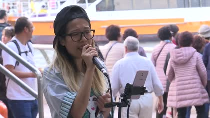 Hong Kong buskers put city's freedom of expression to the test