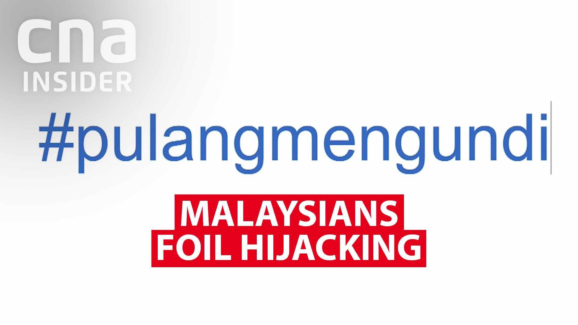 Malaysians foil hijacking