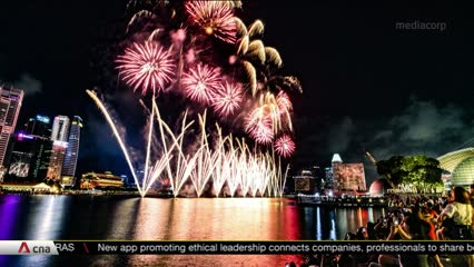 No fireworks at Marina Bay on New Year's Eve amid COVID-19 pandemic   Video