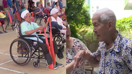 Young in spirit: Centenarian Singaporeans share their story | Video