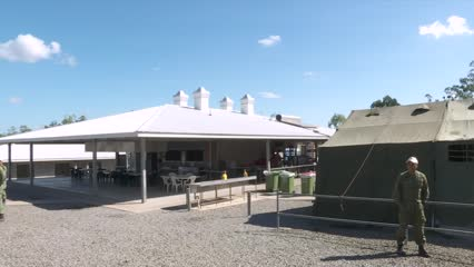Creating a home away from home for troops at Exercise Wallaby | Video