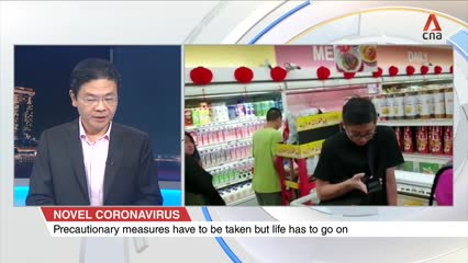Novel coronavirus: Lawrence Wong explains why there is no need to stockpile toilet paper, other necessities | Video