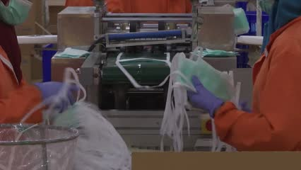 Mask manufacturers struggle to meet demand in as more COVID-19 cases emerge in Indonesia   Video