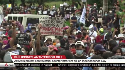 Philippine Independence Day marred by protests against anti-terrorism law | Video