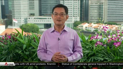 Singapore will emerge from COVID-19 crisis a stronger society, with renewed sense of identity and values: DPM Heng | Video