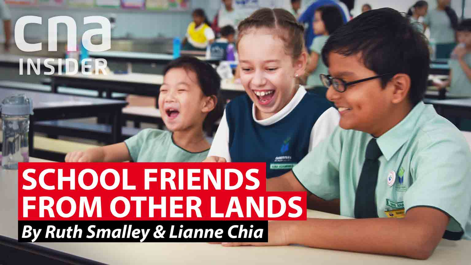 Life as an international student at a Singapore primary school
