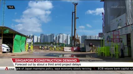 Construction demand to plunge this year after COVID-19 stalls projects | Video