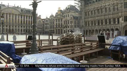 COVID-19: Belgian businesses struggle amid lockdown measures | Video