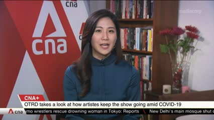 CNA+: On The Red Dot takes a look at how artistes keep the show going amid COVID-19