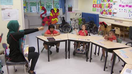 Slight increase in enrolment of special needs students: MOE | Video