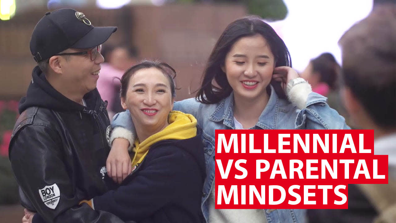 China millennial vs parents: A gulf of expectations