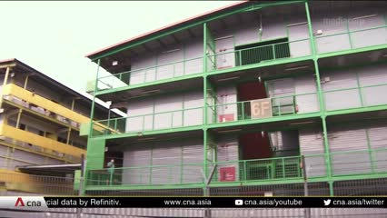 COVID-19: Migrant workers in dormitories worried about loss of income | Video