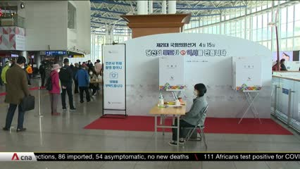 COVID-19: Precautions taken to ensure safety as South Koreans prepare to vote | Video