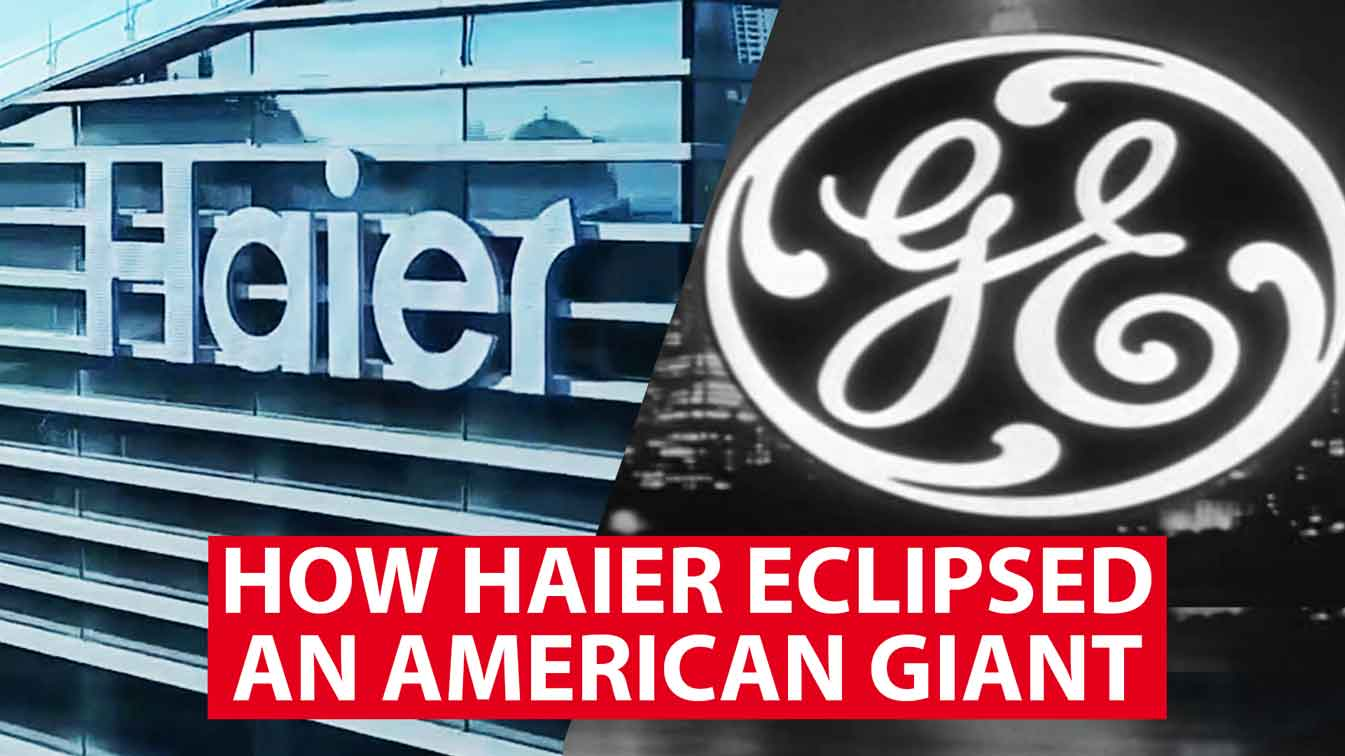 How Haier eclipsed an American giant