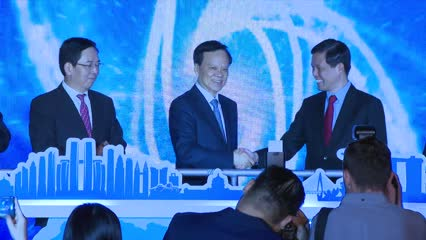 Singapore, Chongqing launch dedicated data channel to boost digital connectivity | Video