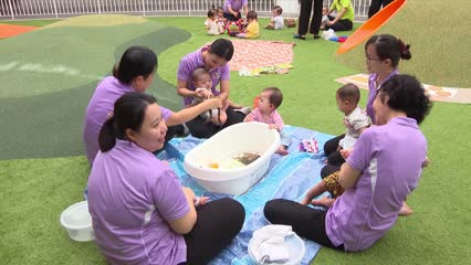 Singapore's largest pre-school for 1,000 children officially opens in Punggol North | Video