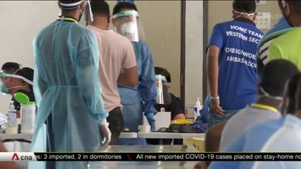 Antigen rapid tests piloted for quicker detection of COVID-19 among migrant workers | Video