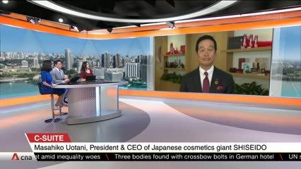 C-Suite: Shiseido President & CEO - Masahiko Uotani