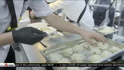 Belgium's sky-high dining experience returns with COVID-19 distancing | Video