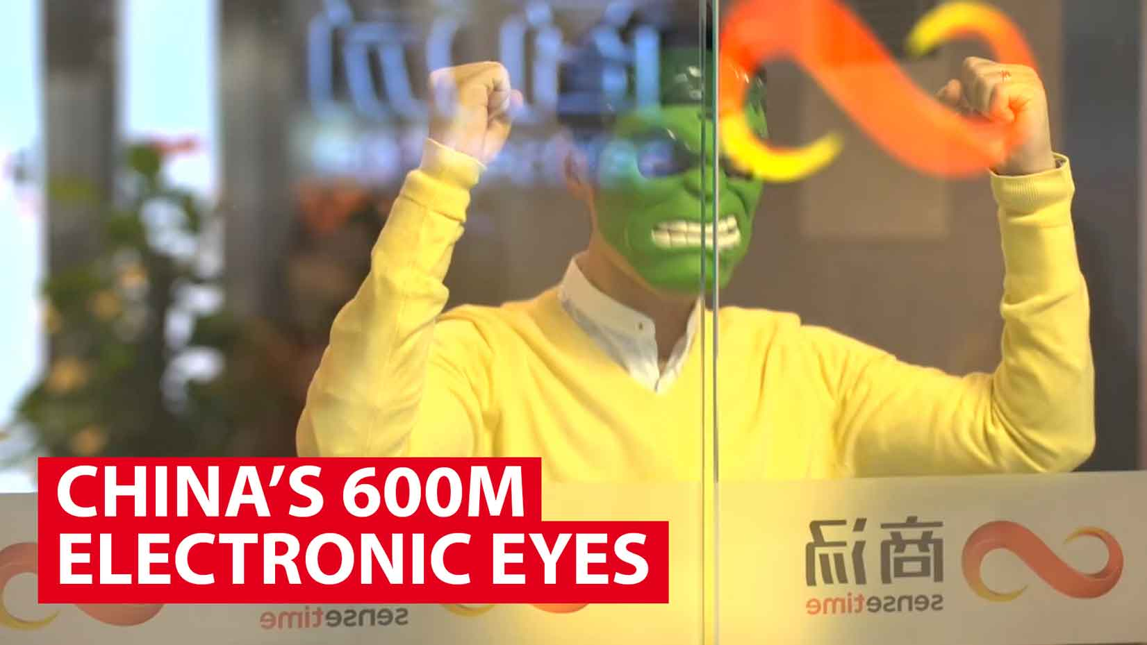 Trying to beat China's 600 million electronic eyes