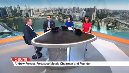 C-Suite: Andrew Forrest, Fortescue Metals Chairman And Founder