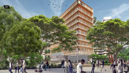 Singapore Institute of Technology unveils first look at new Punggol campus | Video