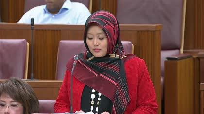 Rahayu Mahzam on Land Transport (Enforcement Measures) Bill