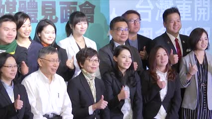 Taiwan's smaller parties make their presence known ahead of legislative polls | Video