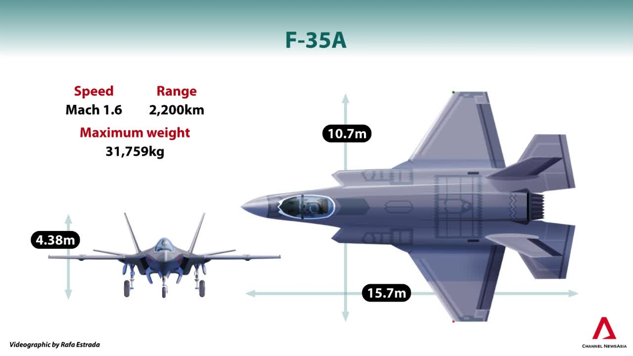 The F-35 Lightning II fighter jet: Singapore's pick to replace the F-16? | Video