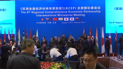 Concluding RCEP trade pact this year the 'highest priority': Chinese VP | Video