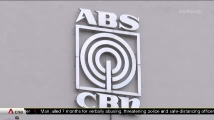 Philippines' solicitor-general blames Congress for shutdown of broadcaster ABS-CBN| Video