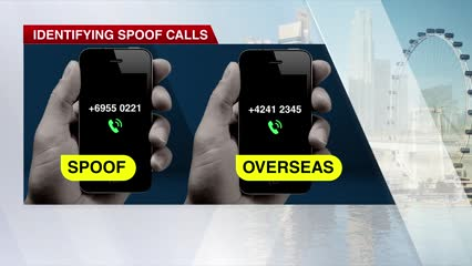 International calls to have plus sign prefix to combat scam calls: Janil Puthucheary | Video