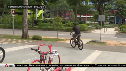 JTC Corporation on track to roll out more cycling paths in the next few years | Video