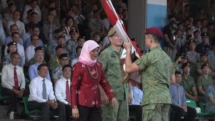 SAF personnel reaffirm commitment to defence on SAF Day | Video