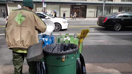 New York ramps up cleaning efforts to combat spread of COVID-19 | Video
