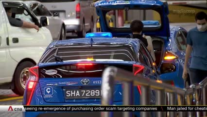 Taxis, private-hire drivers see more customers as Singapore reopens in Phase 2   Video