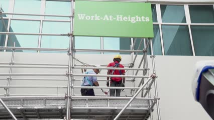 No fatalities caused by falling from height at work reported in Q3 | Video